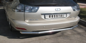 Lexus RX330 защита заднего  бампера d63 LRZ-000397